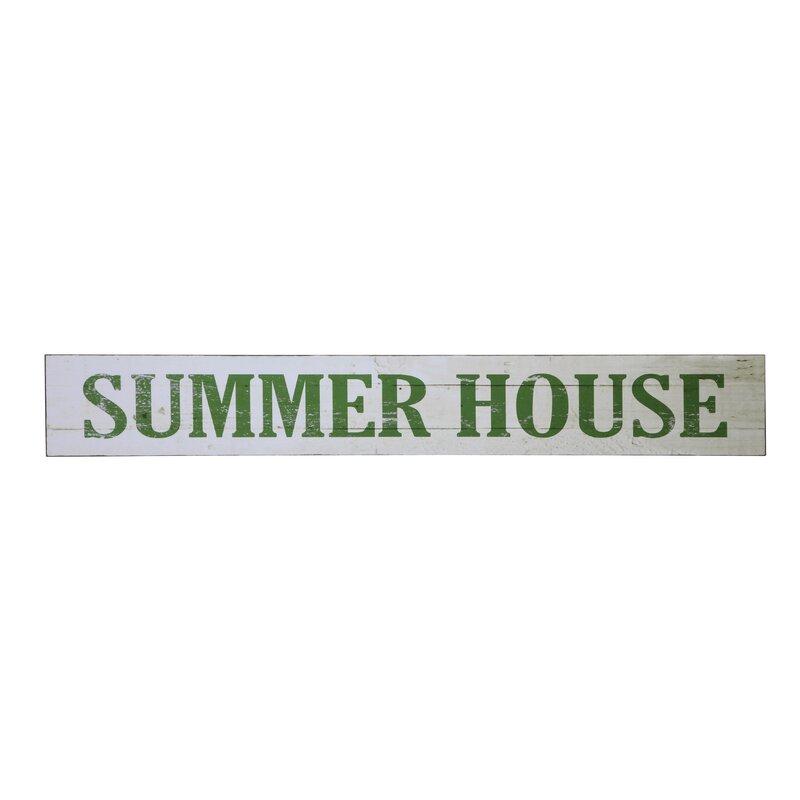 Summer House Wall Décor