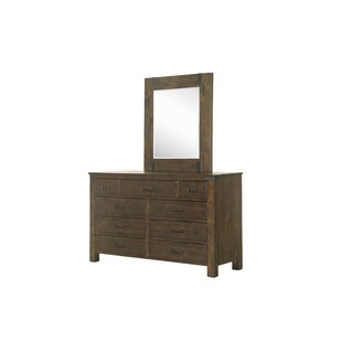 Kellyville 9 Drawer Dresser with Mirror
