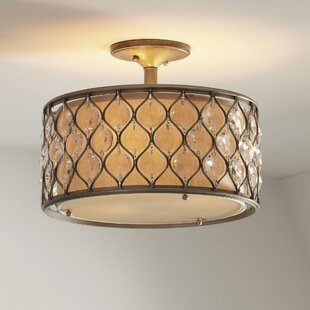 Birch Lane™ Augusta Semi-Flush Mount