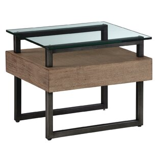 Reviews Hadrian Rectangular End Table by 17 Stories