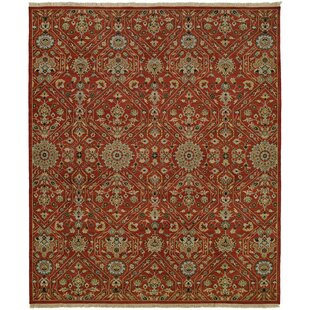 Mccall Wool Red Area Rug by Astoria Grand