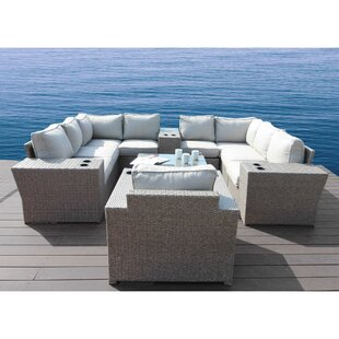 Normandy 13 Piece Sectional Set with Cushions