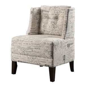 Bobkona Prissy Wingback Chair by Poundex