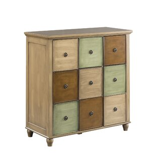 Riccio 9 Drawer Accent Cabinet