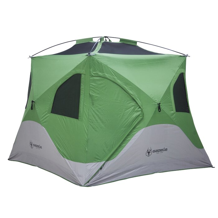 online store adb7f 53437 Pop-Up Portable Camping Hub 4 Person Tent