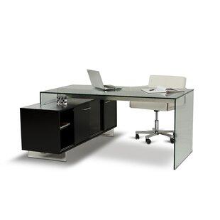 Orren Ellis Clower L-Shape Computer Desk