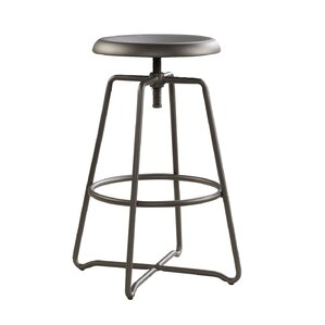 Palethorp Adjustable Height Swivel Bar Stool by Varick Gallery