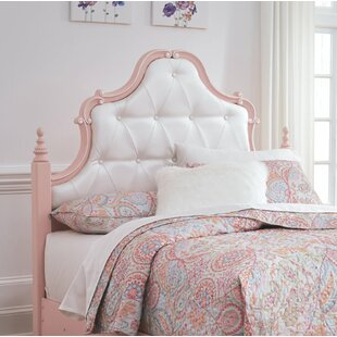 Purchase Stamp Panel Headboard by Harriet Bee Reviews (2019) & Buyer's Guide