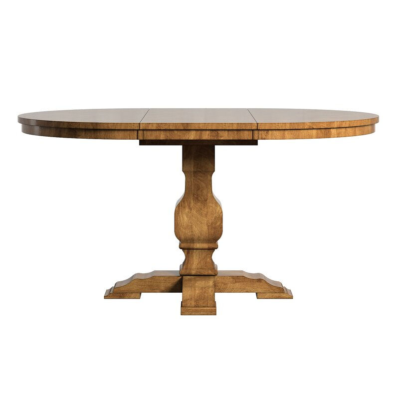 Fortville Extendable Solid Wood Dining Table