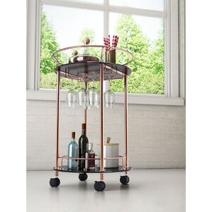 Rudisill Circular Bar Cart by Willa Arlo ..