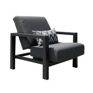 Koi Low Patio Chair with Cushions by Les Jardins