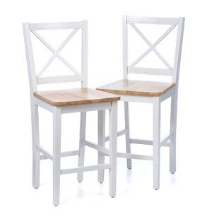 Read Reviews Ilaria 30 Bar Stool (Set of 2) by Andover Mills Reviews (2019) & Buyer's Guide
