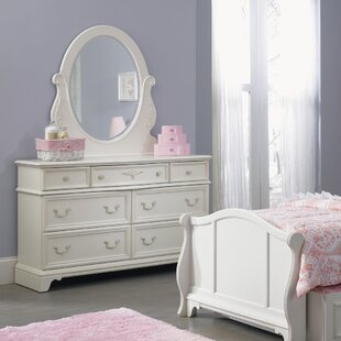 Maia 7 Drawer Double Dresser with Mirror by Viv + Rae