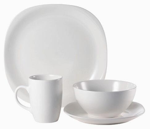 sc 1 st  Wayfair & Thomson Pottery Quadro 16 Piece Dinnerware Set Service for 4   Wayfair