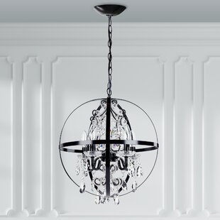Amalfi Decor Luna 5-Light Globe Chandelier
