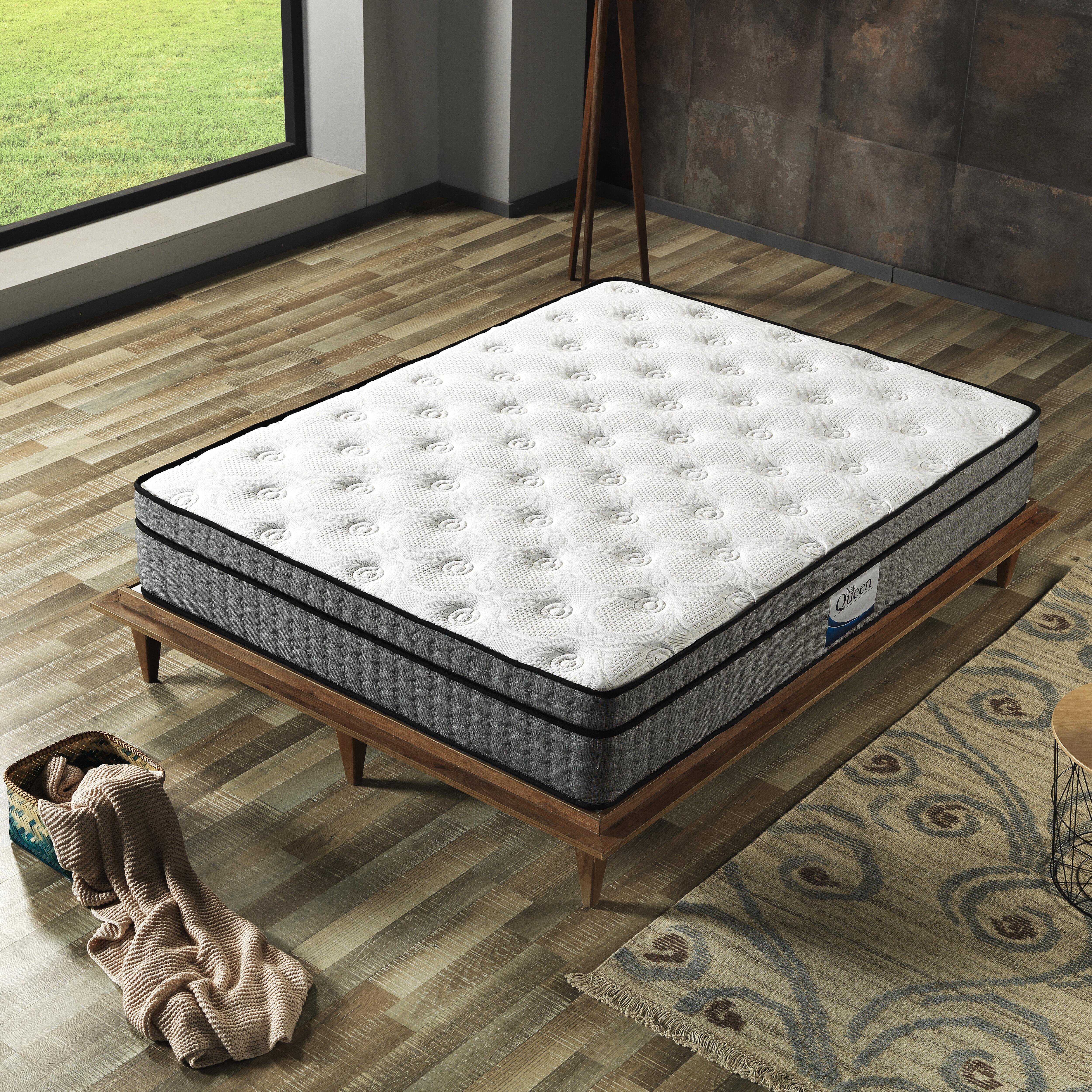 Nap Queen 12 Medium Pillow Top Hybrid Mattress Reviews Wayfair