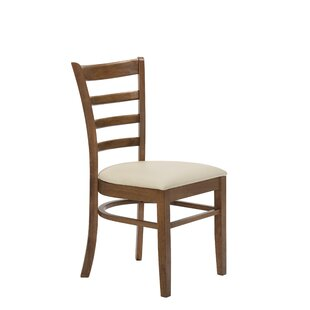 Compare prices Gilbertson Rung Dining Chair (Set of 2) by George Oliver Reviews (2019) & Buyer's Guide