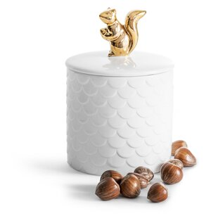 Holiday Squirrel Storage Jar by Sagaform Best Design
