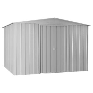 10 Ft. W X 8 Ft. D Apex Metal Shed By WFX Utility