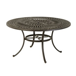 Merlyn Metal Dining Table by Fleur De Lis..