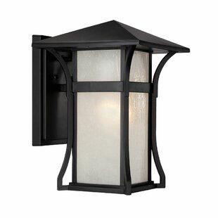 Check Prices Herbst 1-Light Outdoor Sconce By Bloomsbury Market