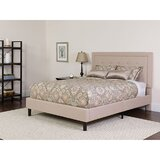 Karissa Upholstered Platform Bed with Mattress by Charlton Home®