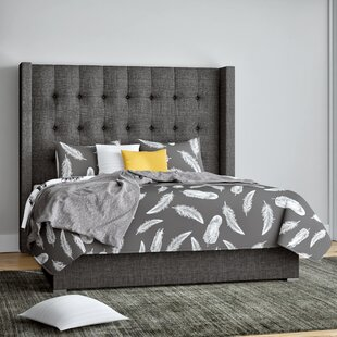 Looking for Half Moon Bay Upholstered Panel Bed by Brayden Studio Reviews (2019) & Buyer's Guide