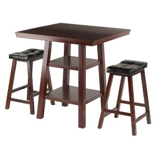 Red Barrel Studio Pratt Street 3 Piece Dining Set