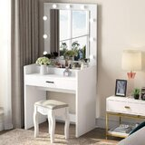 Vanity with Mirror by Latitude Run®