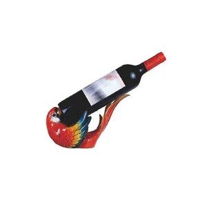Pollard Parrot 1 Bottle Tabletop Wine Rack