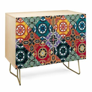 East Urban Home Sharon Spanish Tile Accent Cabinet