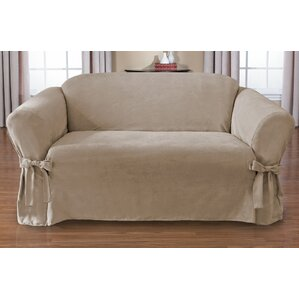 Sienna Box Cushion Loveseat Slipcover by CoverWorks