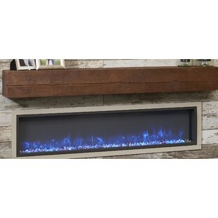 The Outdoor GreatRoom Company Gallery Linear Wall Mounted Electric Fireplace