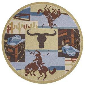 Labrosse Brown / Tan Area Rug