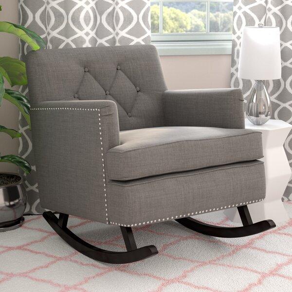 Groovy Viv Rae Anton Rocking Chair Wayfair Machost Co Dining Chair Design Ideas Machostcouk