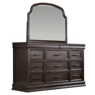 Xcalibur 11 Drawer Dresser With Mirror By Winners Only