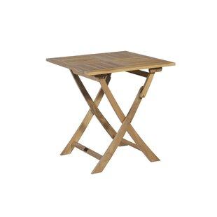 Folding Bistro Table By Exotan