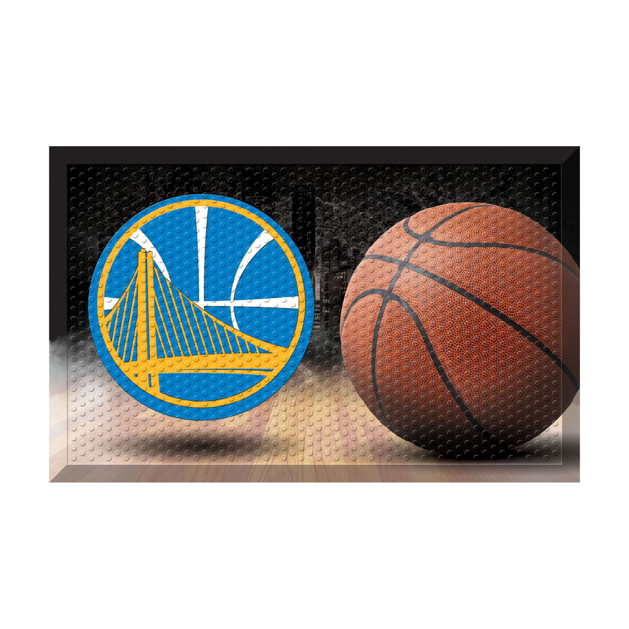 Fanmats Nba Golden State Warriors Ball 30 In X 19 In Non
