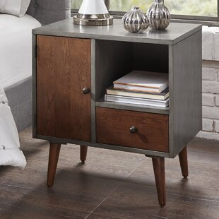 Corrigan Studio Muhammad Storage 1 Drawer Nightstand