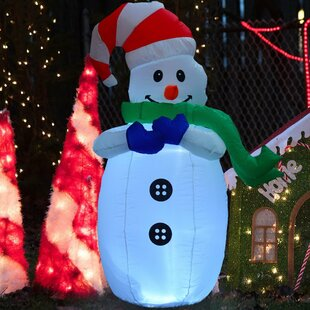 Elgin Christmas Snowman Inflatable By The Seasonal Aisle