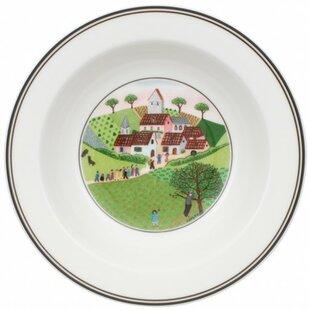 Design Naif Wedding Procession Rim Cereal Bowl By Villeroy & Boch