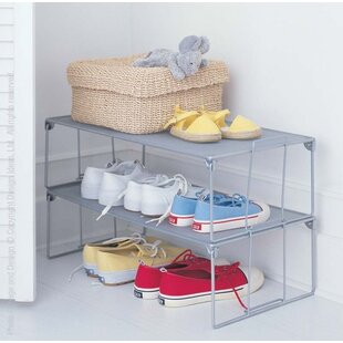 Design Ideas Stackable Shoe Shelf