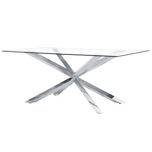 Orren Ellis Wilbanks Modern Dining Table