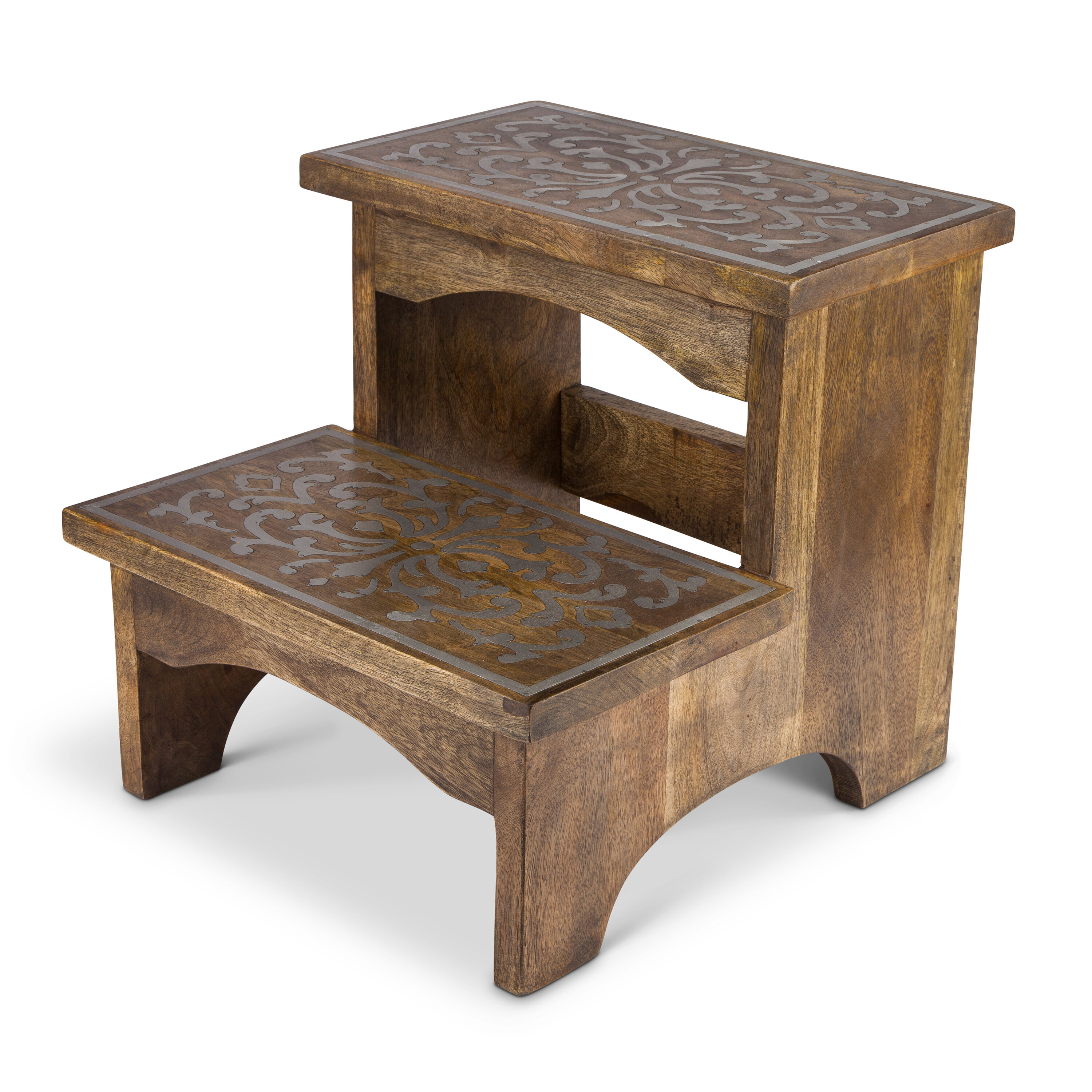 Superb Stampley 2 Step Wood Step Stool Caraccident5 Cool Chair Designs And Ideas Caraccident5Info