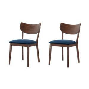 chair dining. waterbury solid wood dining chair (set of 2)