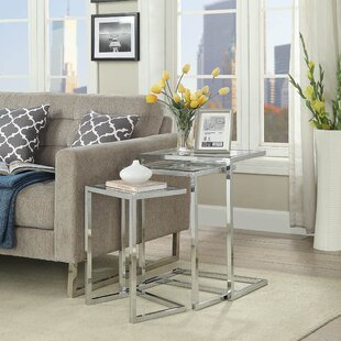 Latitude Run Kilburn 3 Piece Nesting Table (Set of 3)