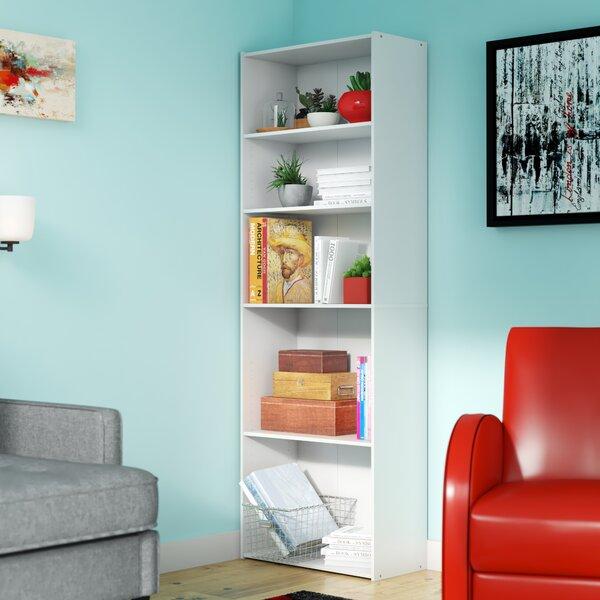 Latitude Run Hinshaw 71 3 H X 24 6 W Standard Bookcase Reviews Wayfair