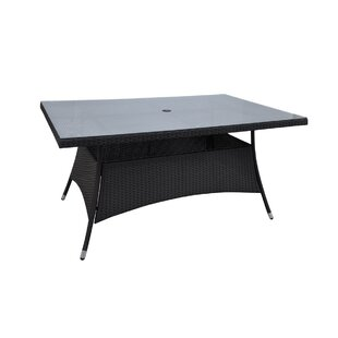 Patio Wicker Dining Table