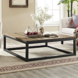 Sahlberg Square Coffee Table by Gracie Oaks