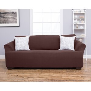 Amilio Box Cushion Sofa Slipcover by Home Fashion Designs